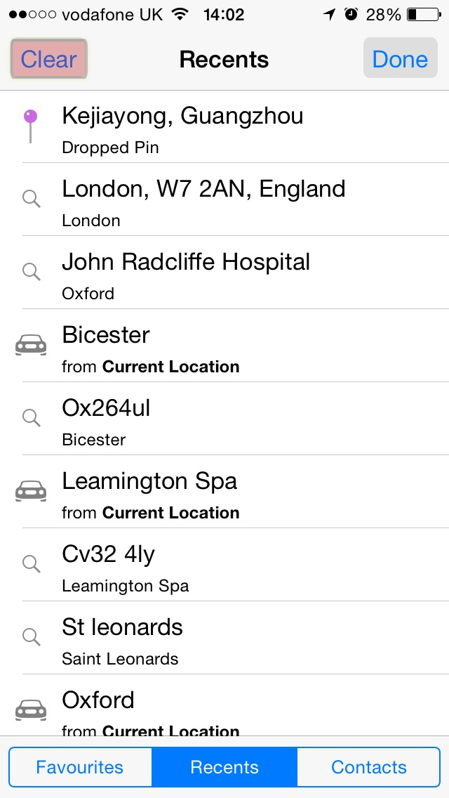 How To Clear Your Apple Maps Search History in iOS 8 – Random s / Clear Apple Maps History on