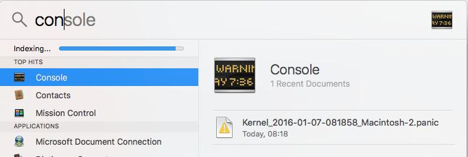 Loading OS Console