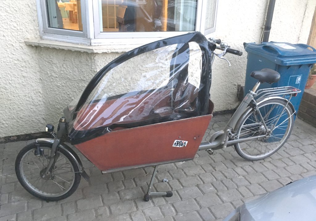 My lovely new Bakfiets cargo bike